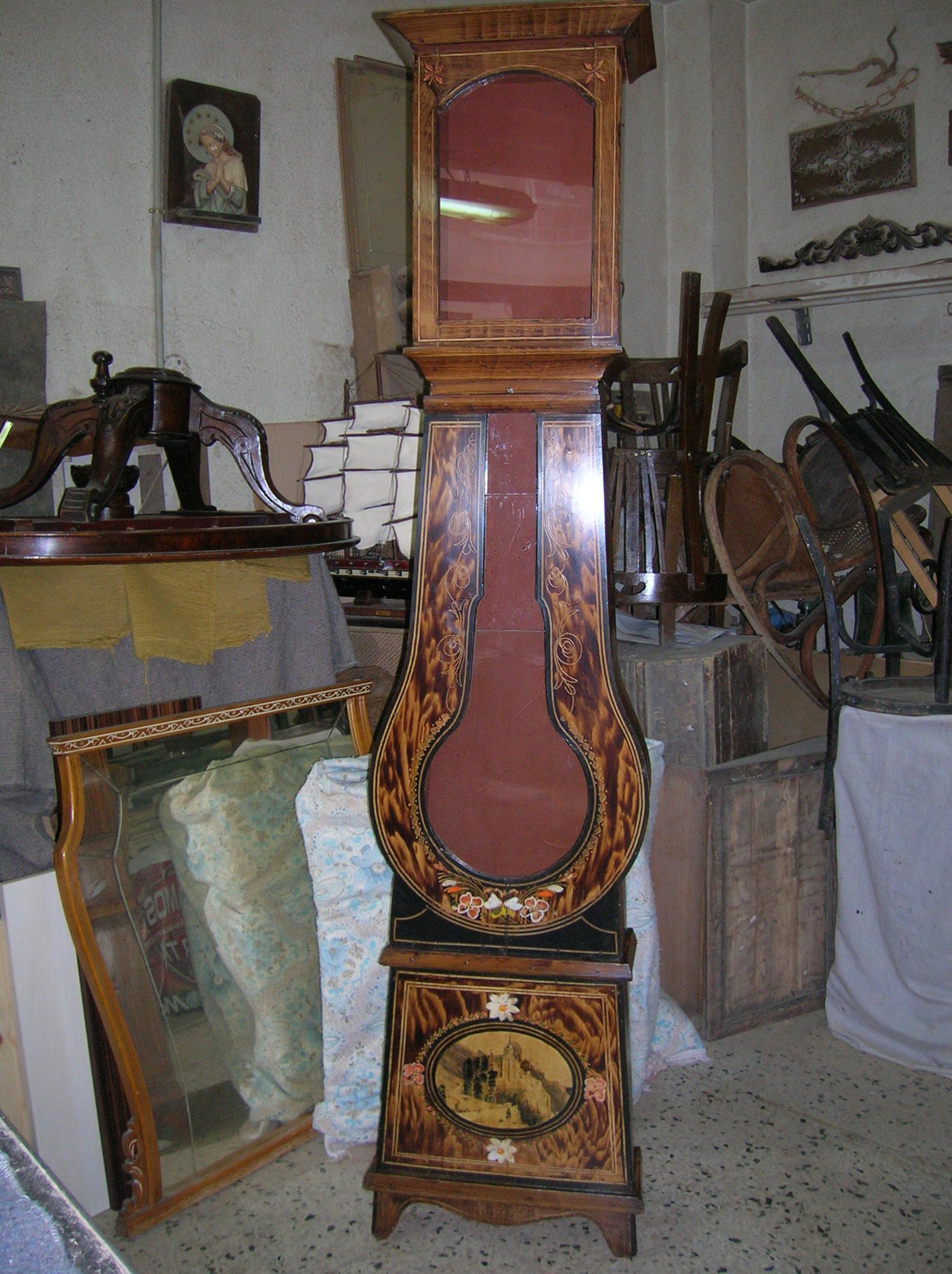 reloj caja llamada de guitarra