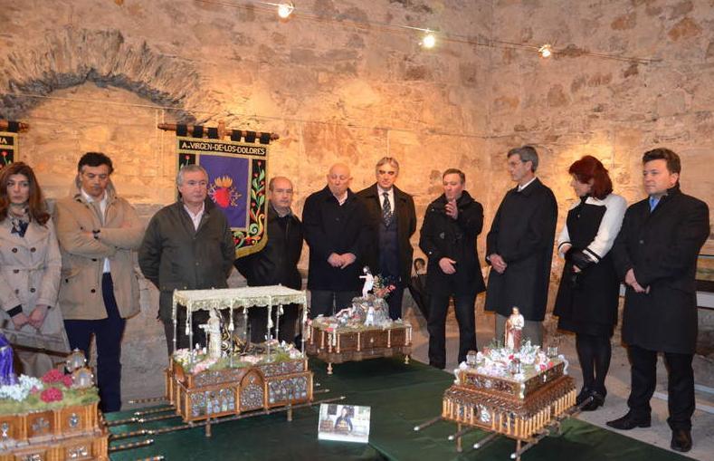 inaguracion exposicion de mis tronos en Astorga