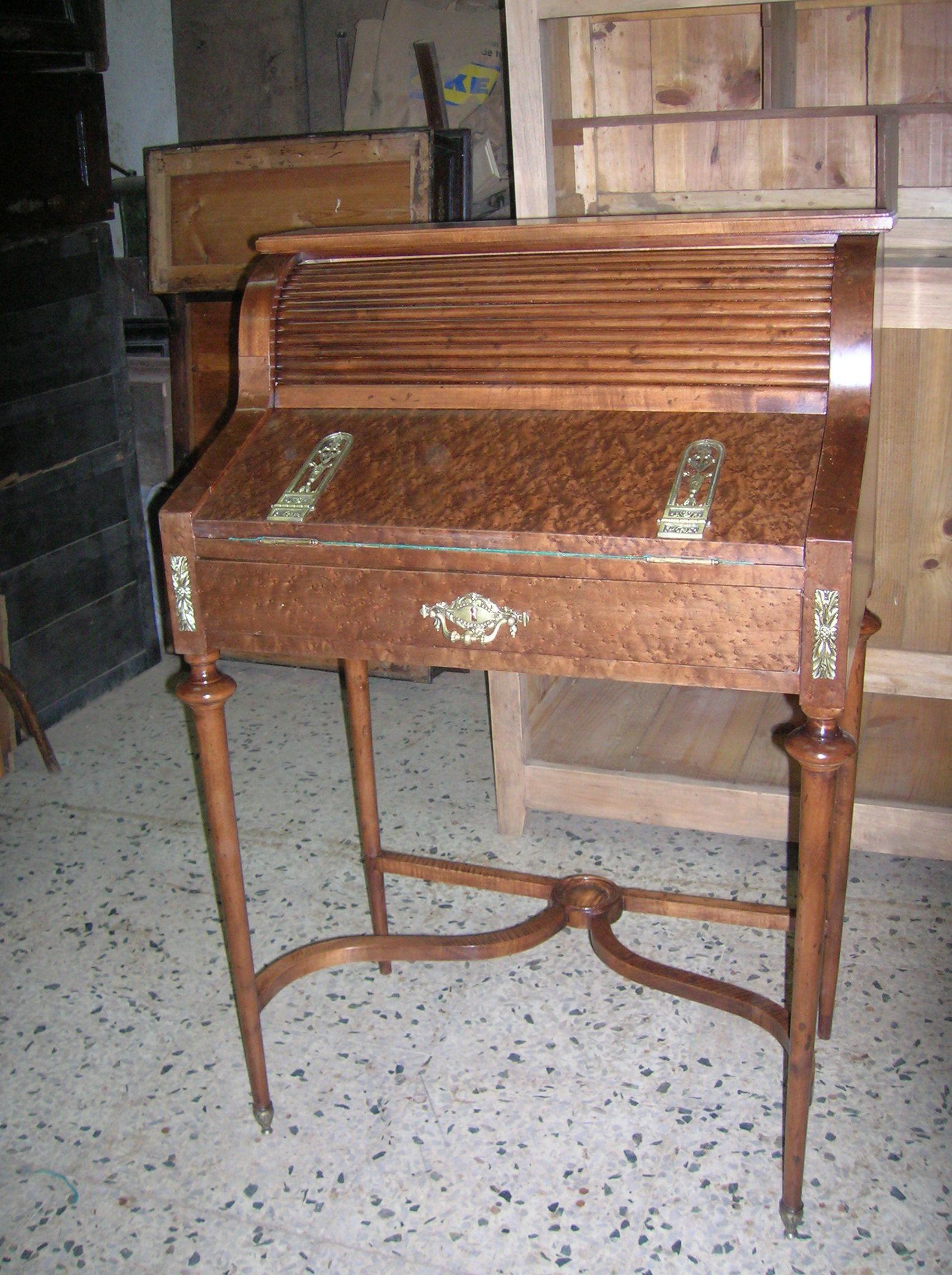 escritorio de persiana