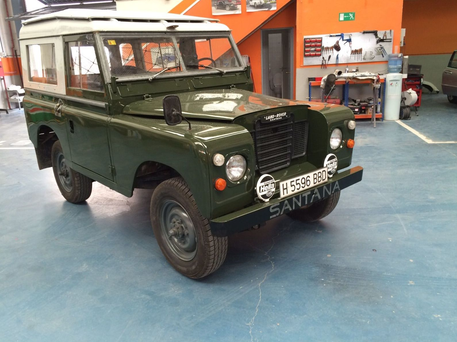 Land Rover Santana ´77 - Pintura color original