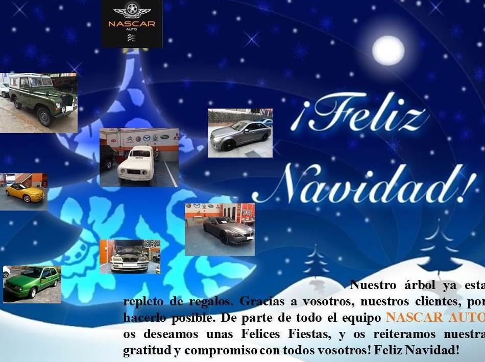 NASCAR AUTO os desea Felices Fiestas!!!!!