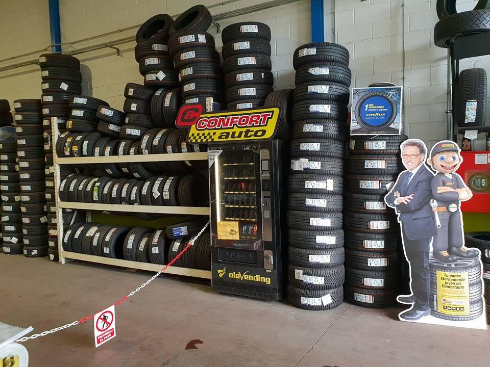 Taller multimarca, neumáticos Siero