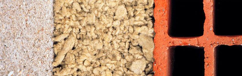 Insuflado de lana mineral Rockwool para aislamiento.: Servicios de Cuatro Paredes