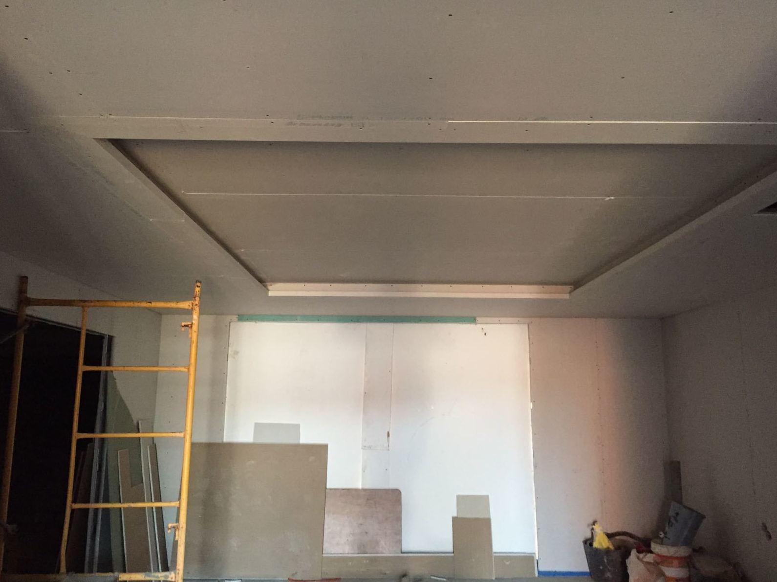Falso techo en pladur