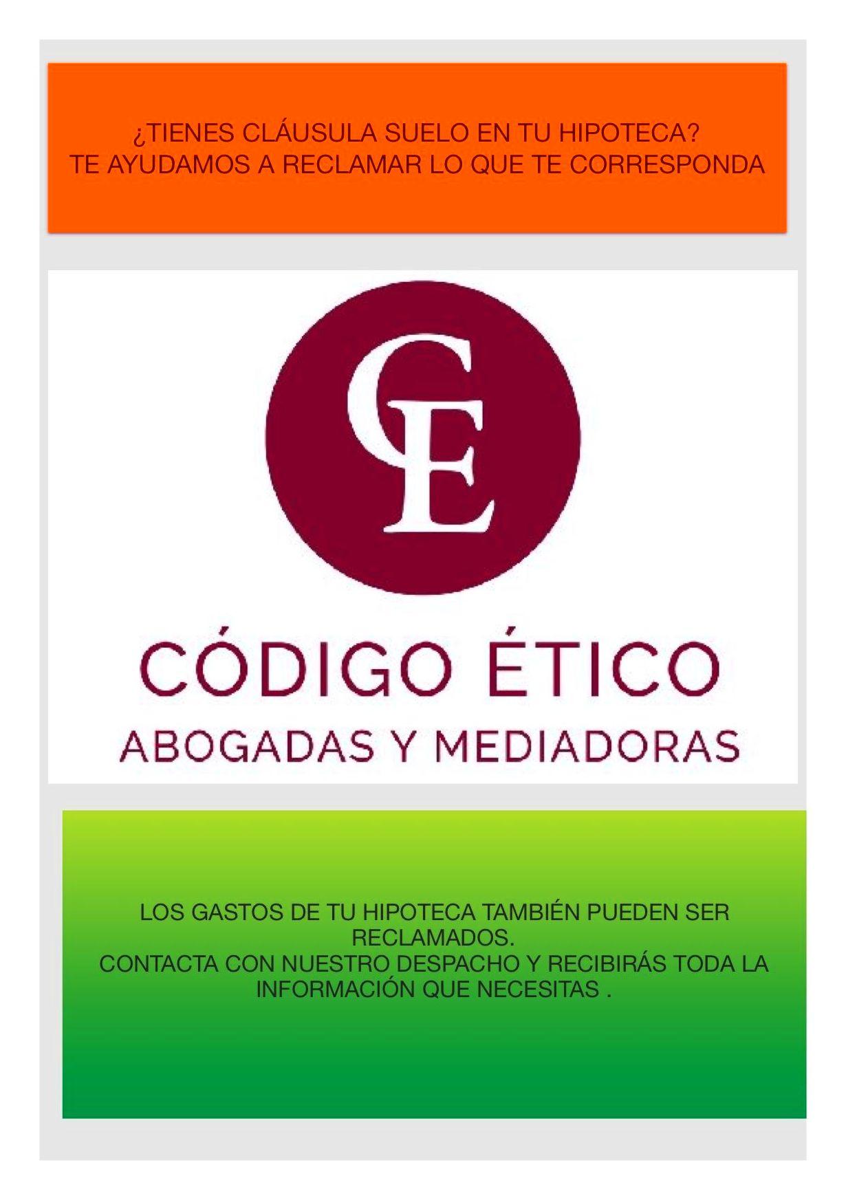 Foto 2 de Abogados en Castro Urdiales | Código Ético Abogadas y Mediadoras