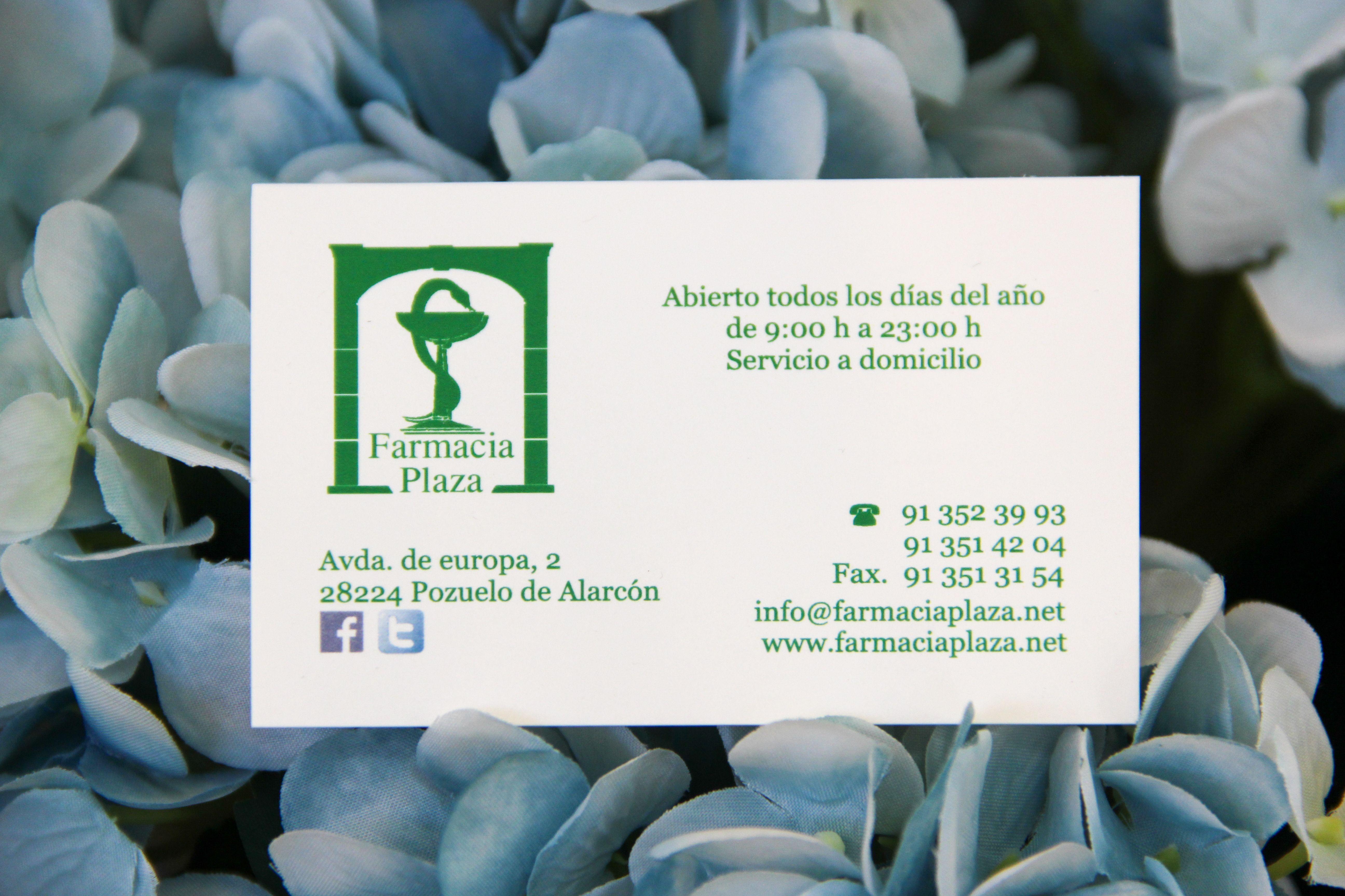 Foto 9 de Parafarmacia en Pozuelo de Alarcón | Farmacia Plaza