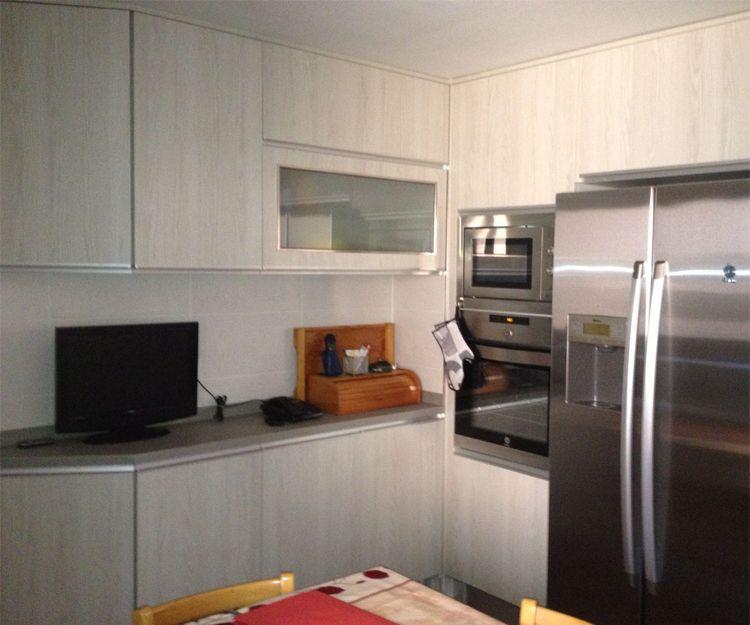 Muebles de cocina de estilos diversos