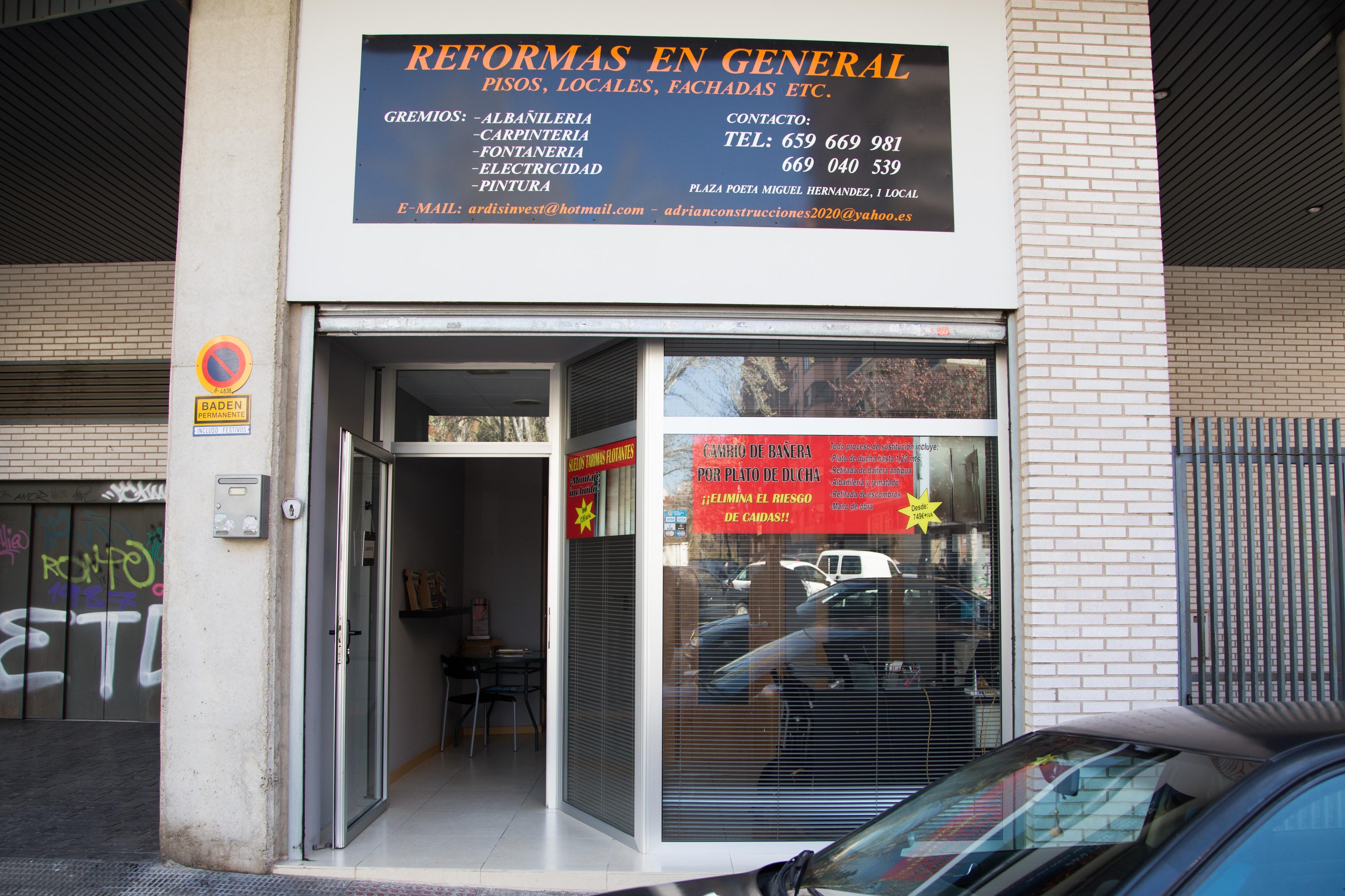 Reformas en general en Zaragoza