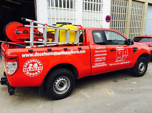 Desatascos urgentes en Zaragoza