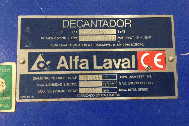 Centrífugas seminuevas Alfa Laval 30