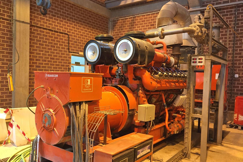Motogenerador generador 450-600 KB Completor