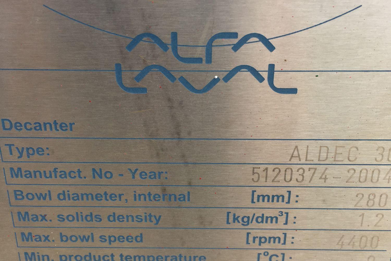 Máquinas centrífugas seminuevas Alfa Laval 30