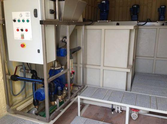 Equipo dosificador de floculante con capacidad para 7m3: Productos nuevos y seminuevos de Equipos de Maquinaria Industrial