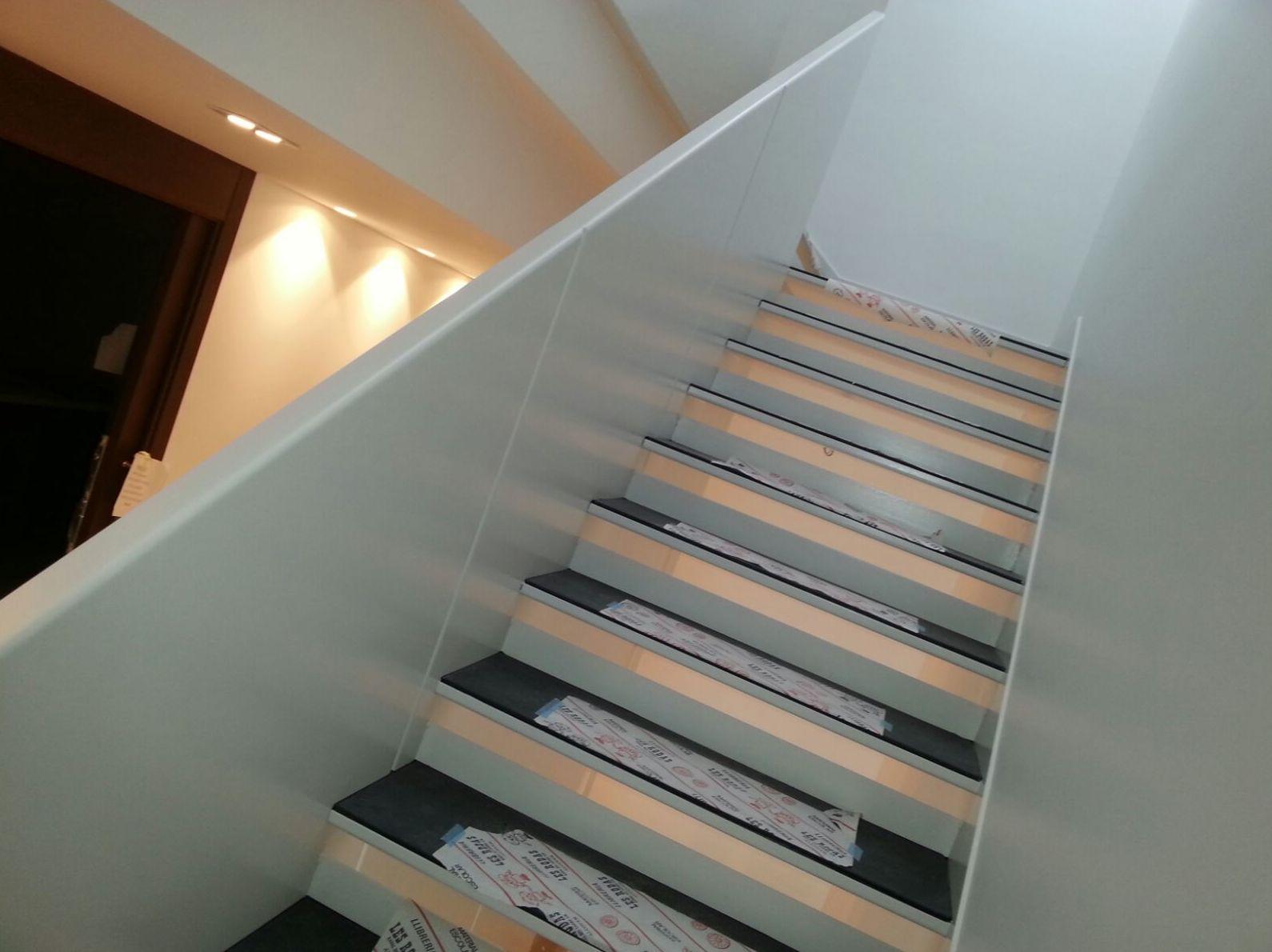 escaleras de chapa