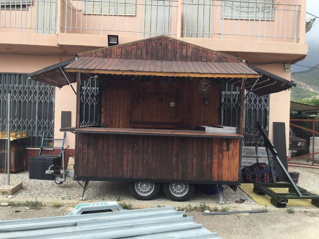 Xiringito Madera: Remolques de Remolques Garri