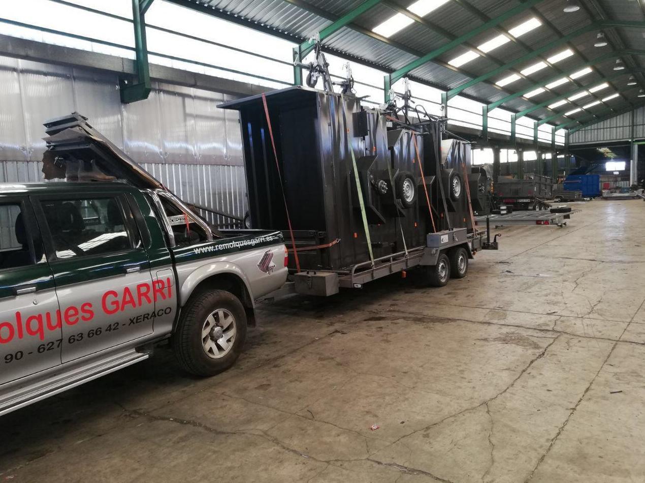 Foto 3 de Venta e instalación de remolques en  | Remolques Garri