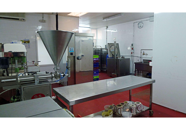 Sala de elaboración de los productos de Casa Delicado