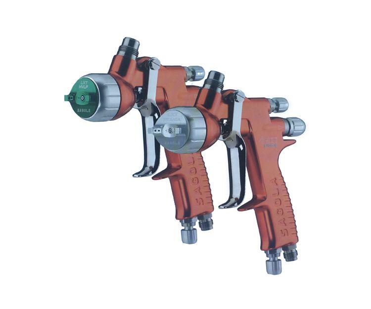 Venta de pistolas para pintura industrial en Toledo