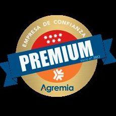 Certificado de confianza premium de Agremia