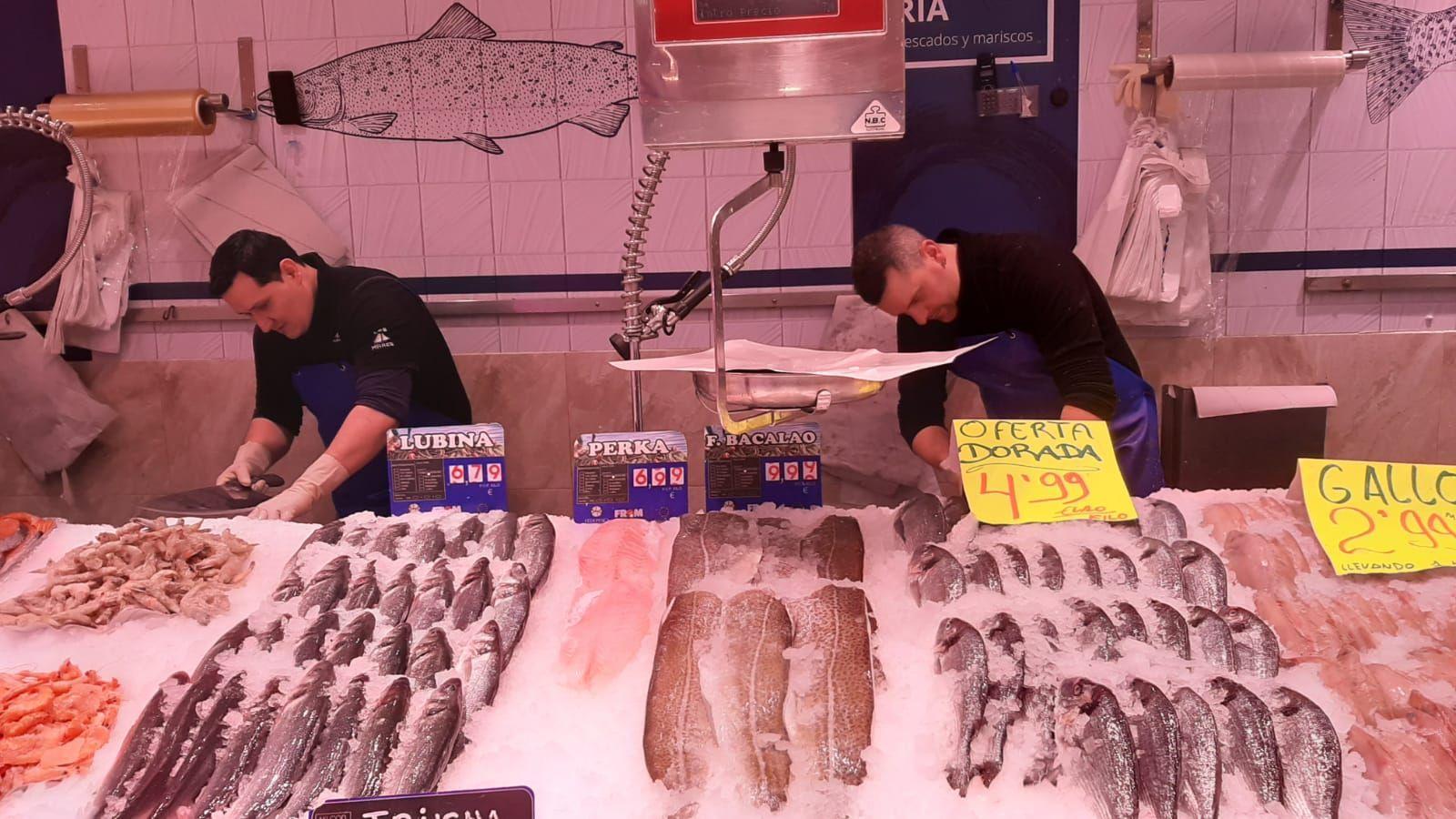 Pescateros profesionales