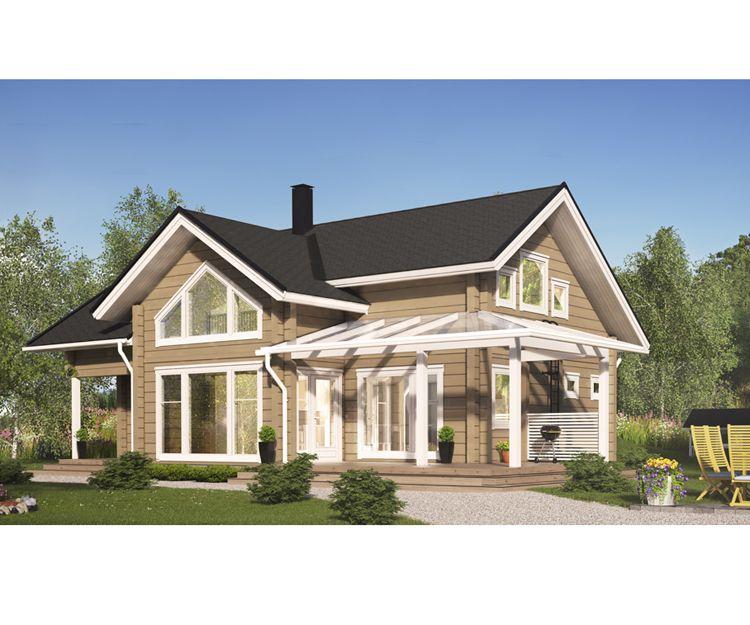 Casas prefabricadas con diversos acabados