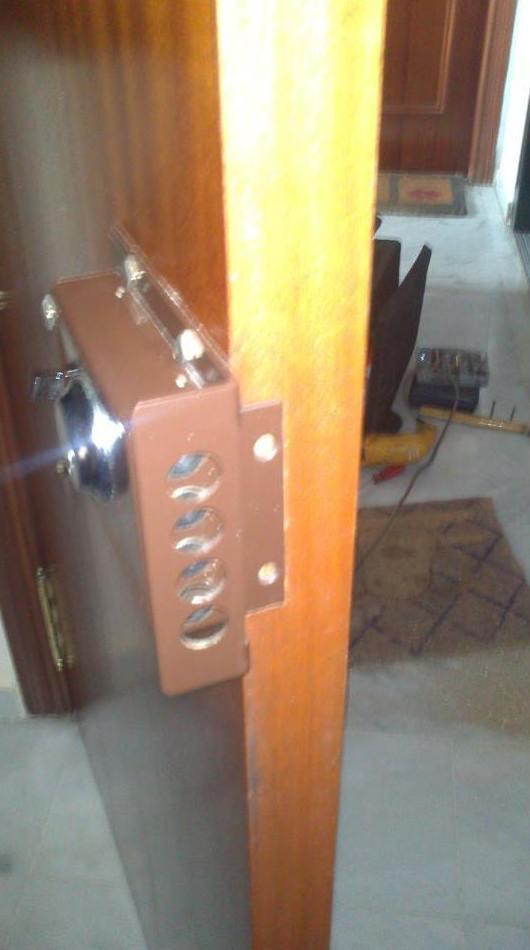 Instalación de cerraduras de seguridad