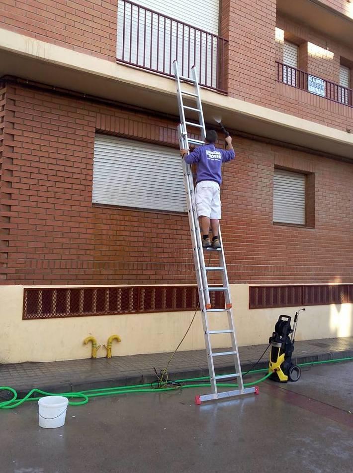 Limpieza de fachadas en Zaragoza