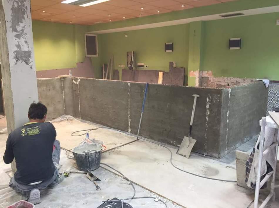 Trabajos de albañilería: Servicios de Limpiezas Boyra