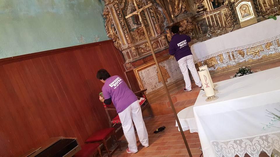 Empresa de limpieza especialista obras religiosas en Zaragoza
