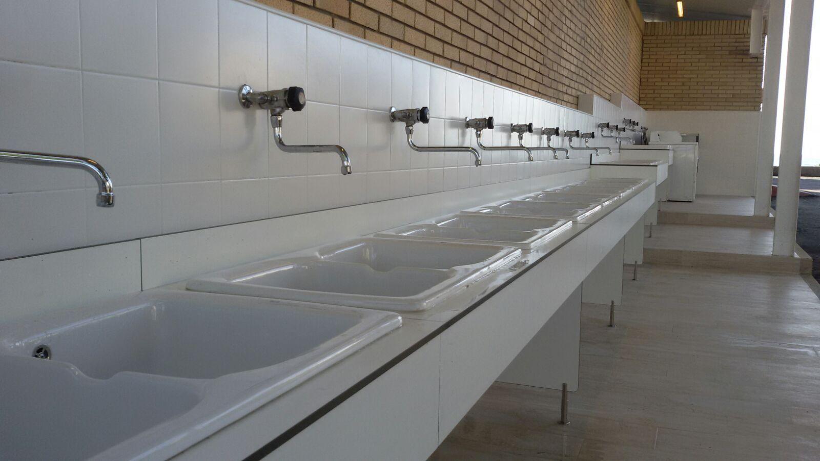 Instalación de lavabos