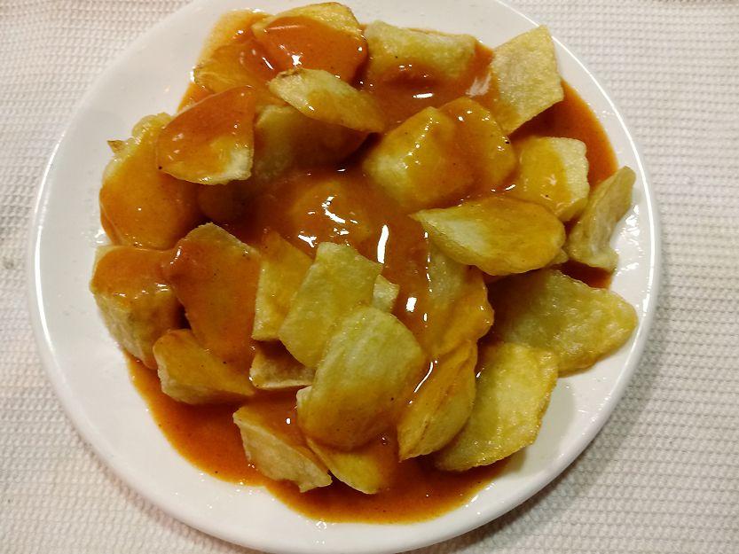 Nuestras patatas bravas