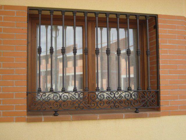 Rejas para ventanas y puertas cat logo de c l m - Catalogo puertas metalicas ...