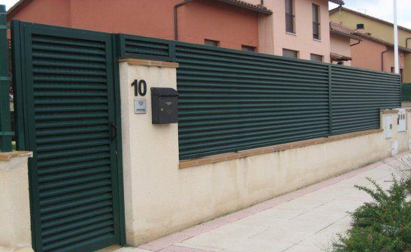 Vallas de cerramiento: Catálogo de C.L.M. Cerrajeros Segovia