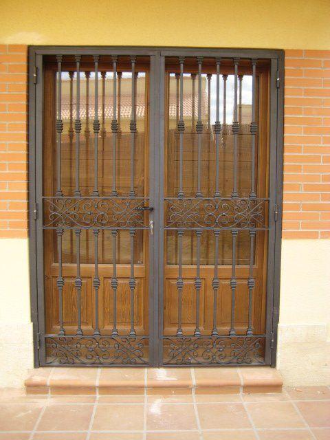 Rejas para puertas o ventanas en Segovia