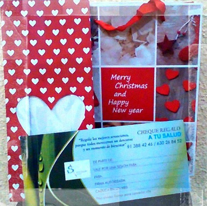 Cheques regalo Navidad, masajes y más en Arturo Soria