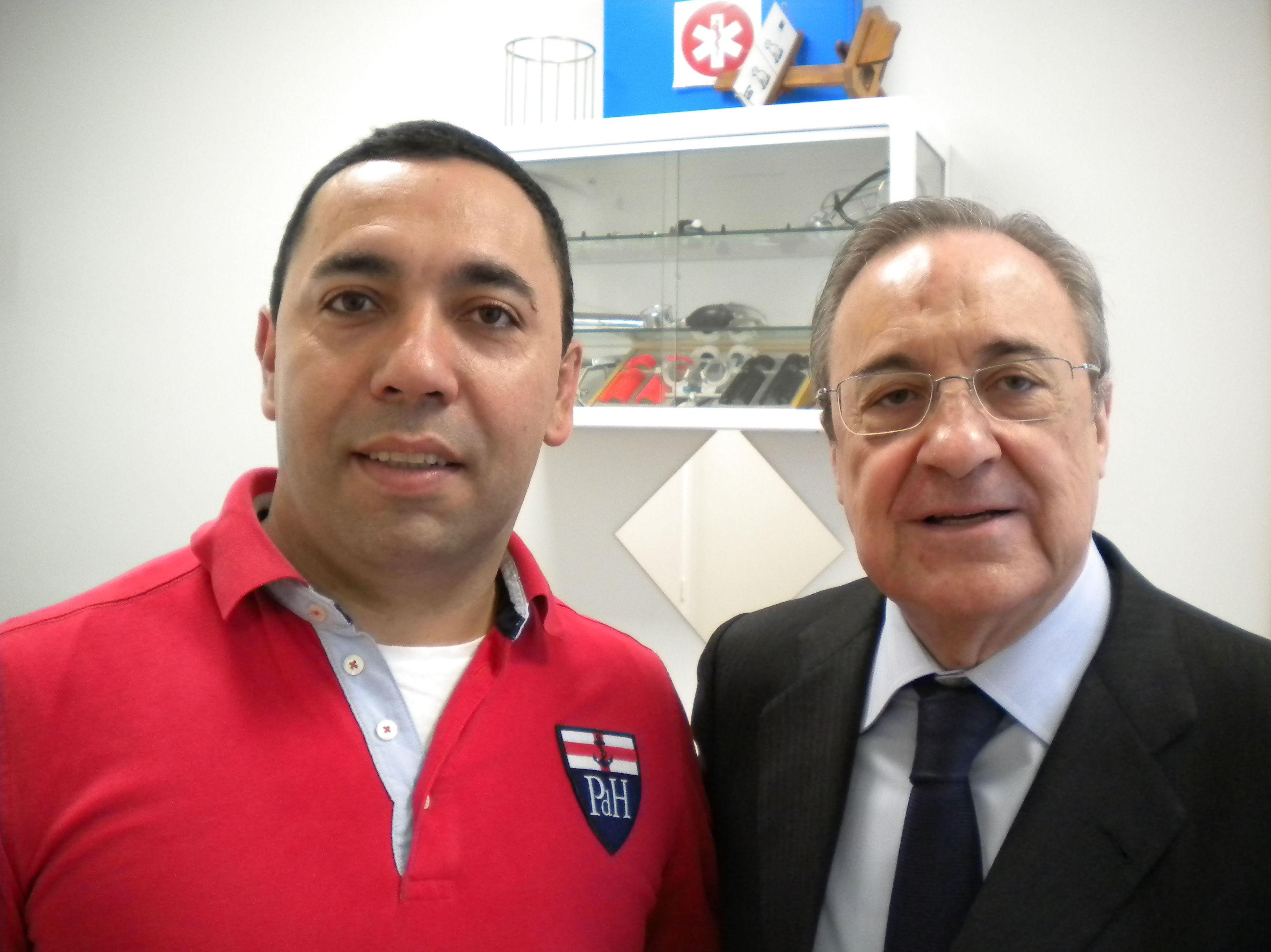 Florentino Pérez en centro médico A tu Salud Arturo Soria.