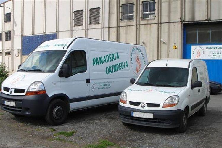 Distribución de pan en Vizcaya