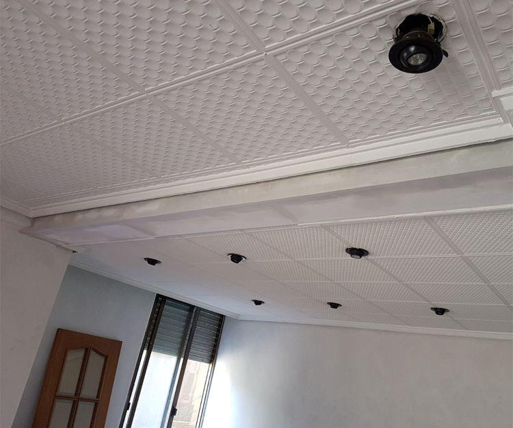 Instalación de techos de pladur