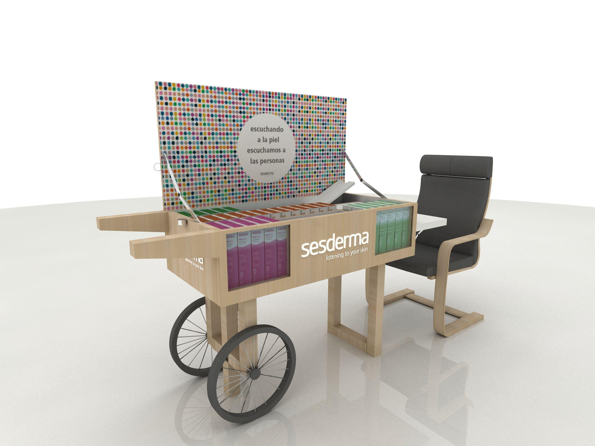 Muebles de diseño en madera para la hostelería en Barcelona
