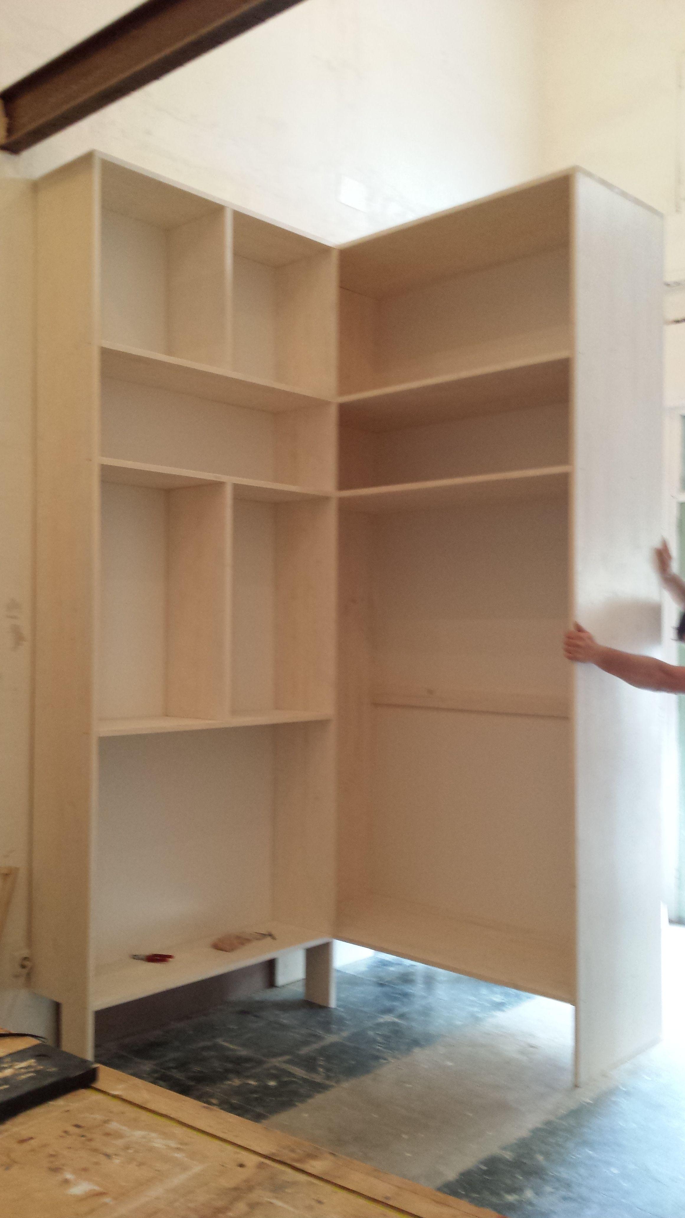 Muebles de dormitorio a medida en el Eixample