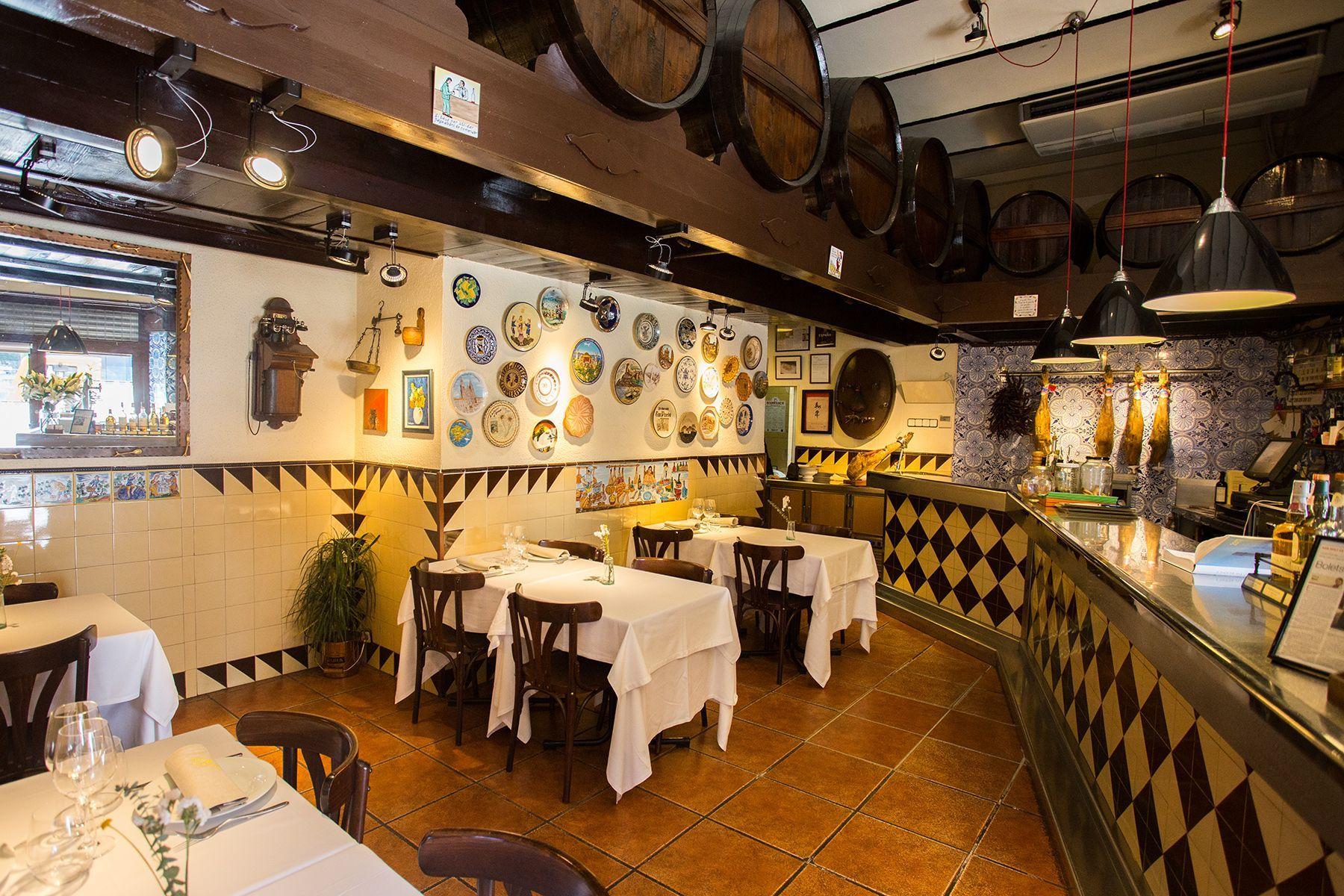 El menú: Nuestros platos de Can Pineda
