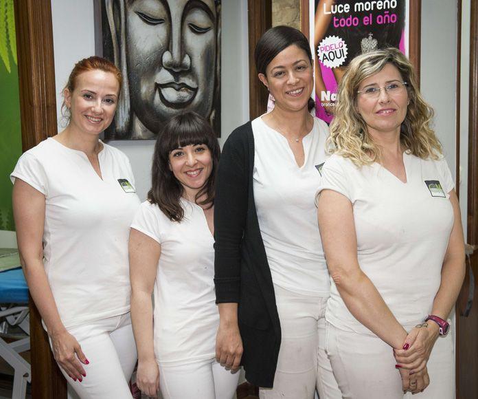 Limpiezas faciales: Servicios de Centro de Estética Carmen Martínez