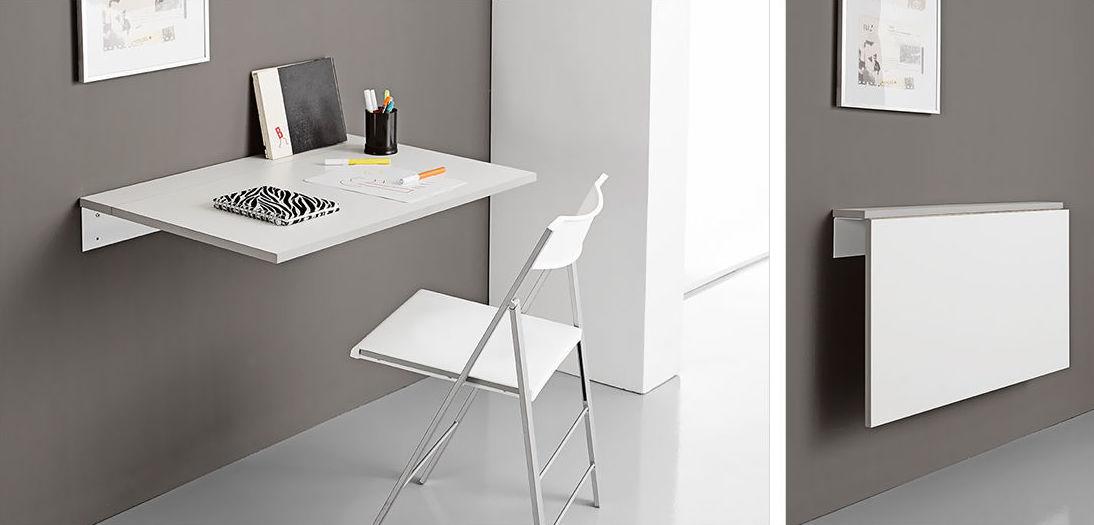Mesa y silla plegables catalogo de cahema hogar - Mesa pared cocina ...
