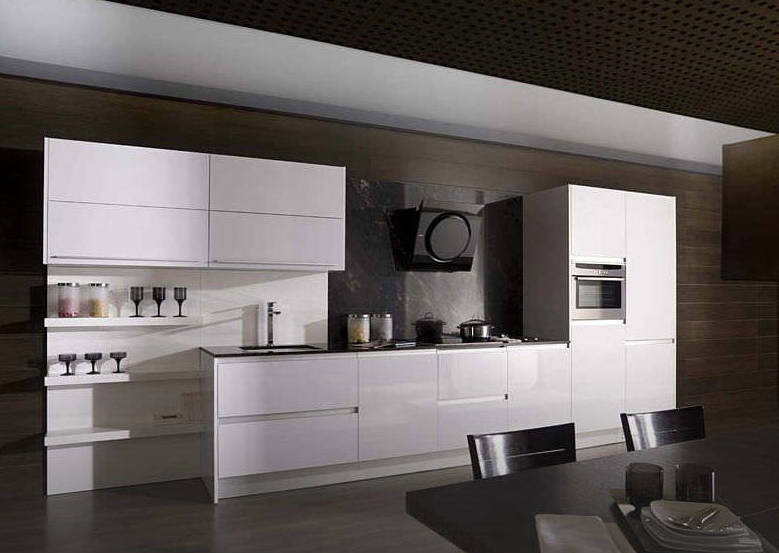 Promoci n cocina blanco brillo catalogo de cahema hogar - Cocina hogar chiclana catalogo ...
