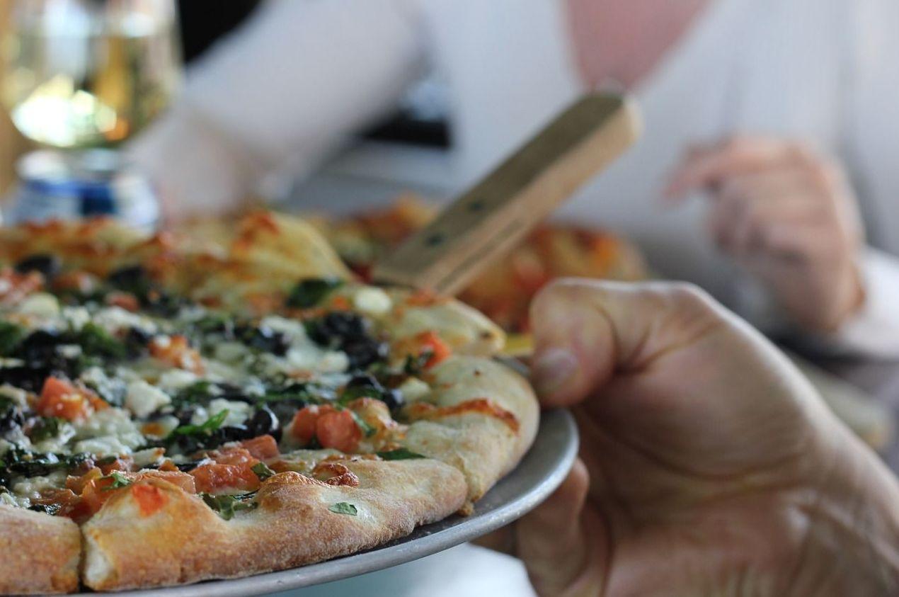 Veneciana: Carta de Pizzeria Fralisani