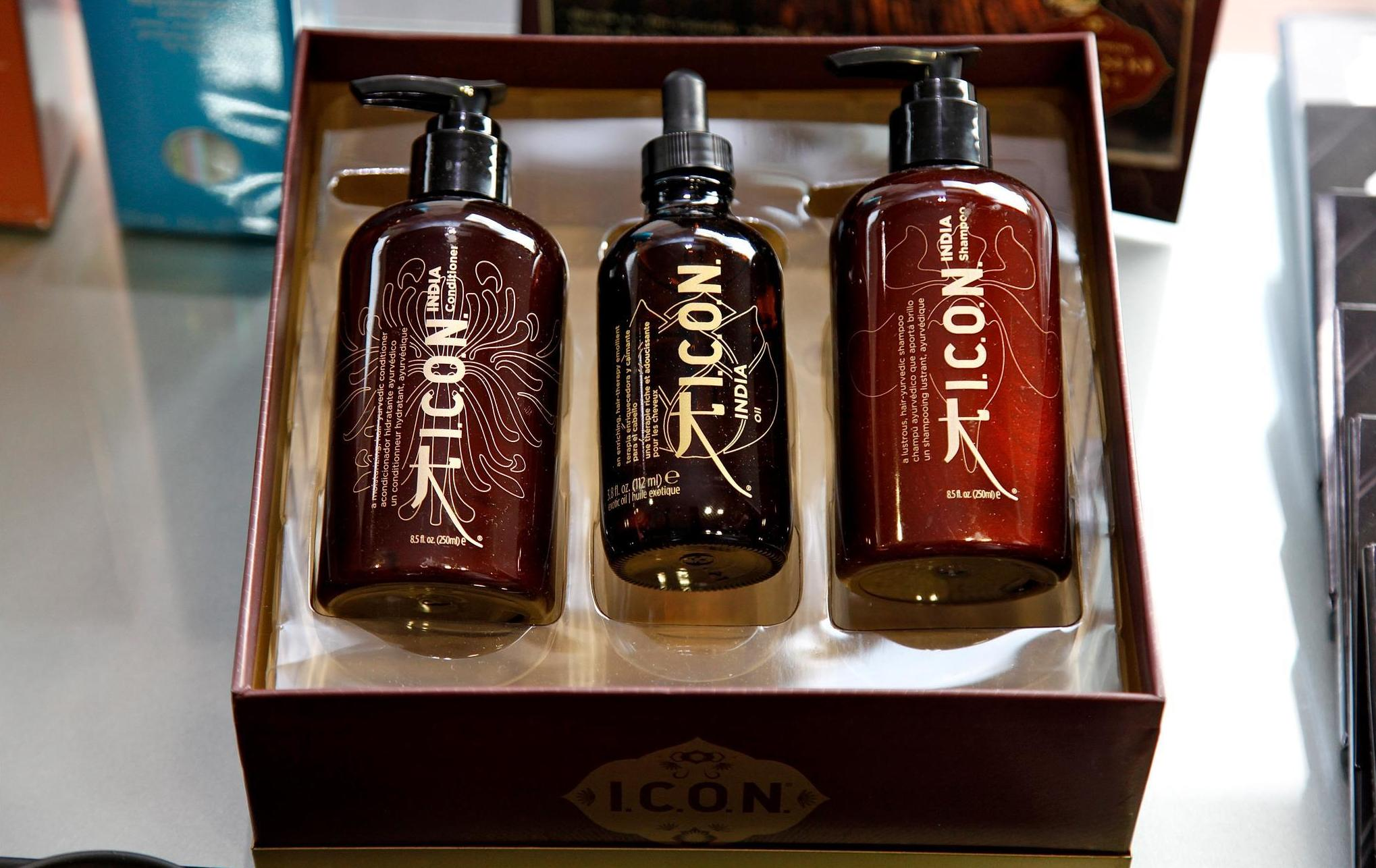 Utilizamos productos ecológicos de peluquería I.C.O.N.