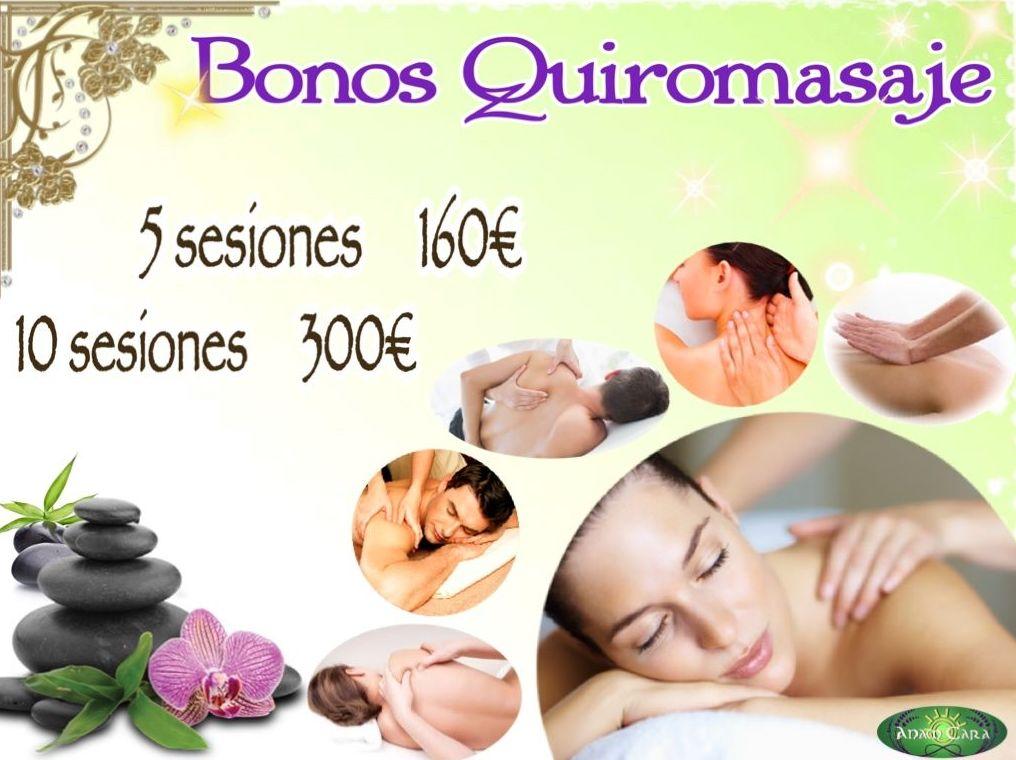 Bonos Quiromasaje