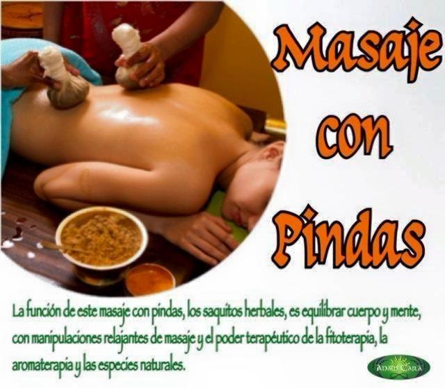 Masaje con Pindas: Terapias de Anam Cara