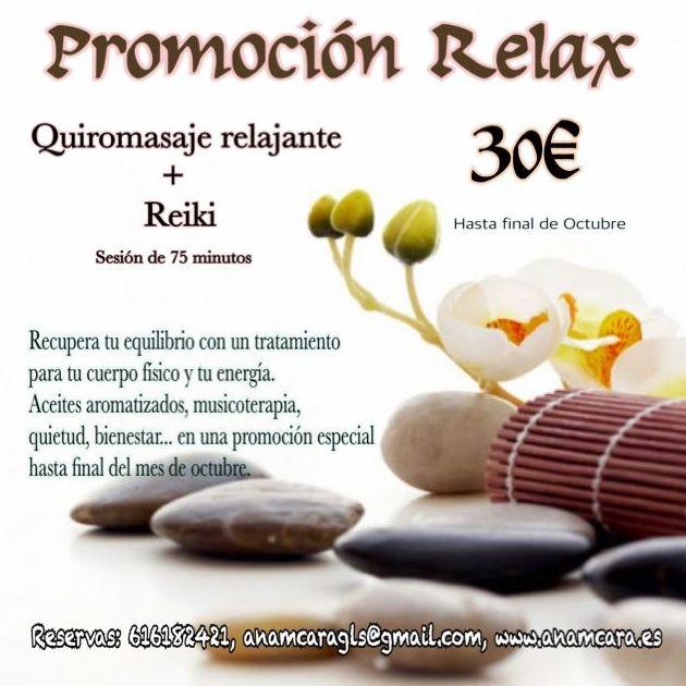 Promoción especial Relax...sólo  hasta final de mes