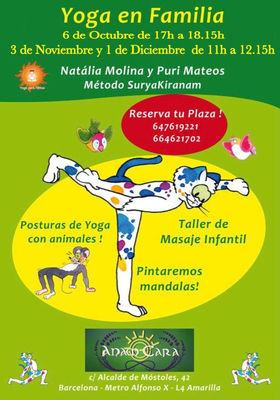 Yoga en familia para el fin de semana